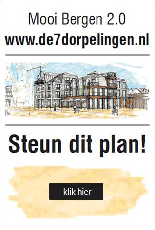 Steun het plan Mooi Bergen 2.0 - Centrumplan Bergen N-H